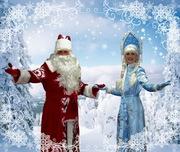 Веселые д.Мороз и Снегурочка