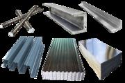 чёрный металлопрокат: арматура,  балка двутавровая,  швеллер,  лист и т.д