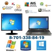 Установка Windows 7,  Windows 8 в Павлодаре